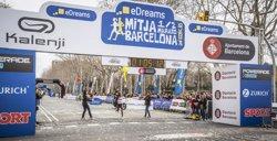L'eDreams Mitja Marató de Barcelona aconsegueix