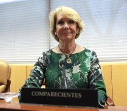 Esperanza Aguirre dimiteix com a presidenta del PP Madrid per