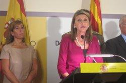 Llanos de Luna expressa el seu condol per la mort de Muriel Casals (EUROPA PRESS)