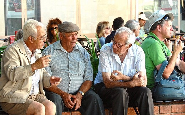 Mayores, ancianos