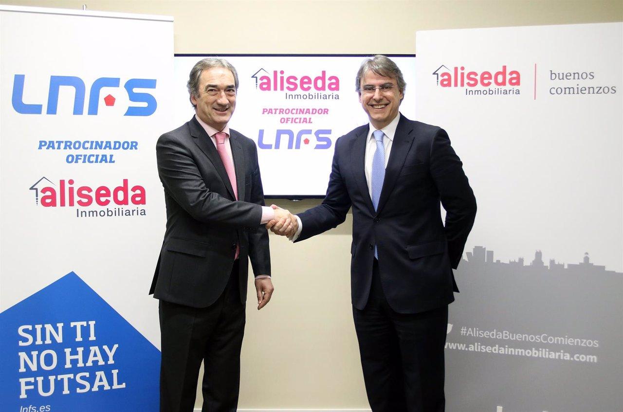 Aliseda inmobiliaria nuevo patrocinador oficial de la lnfs for Inmobiliaria aliseda