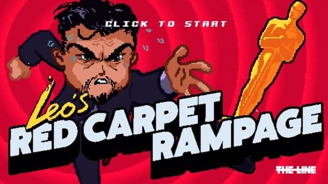 Leo's Red Carpet Rampage, el videojuego