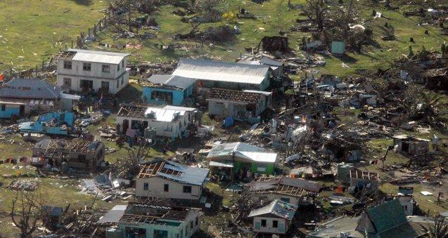Foto: Naciones Unidas inicia la evaluación de daños en Fiyi para distribuir ayuda humanitaria (HANDOUT . / REUTERS)