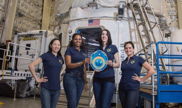 La NASA experimenta con una tripulación espacial sólo de mujeres (NASA/ BILL STAFFORD)