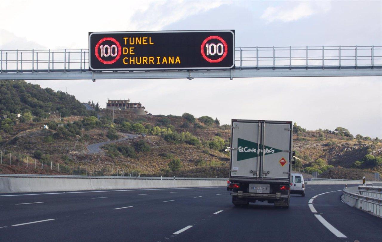 Ocho accidentes en las carreteras de m laga durante el puente - Direccion de trafico en malaga ...
