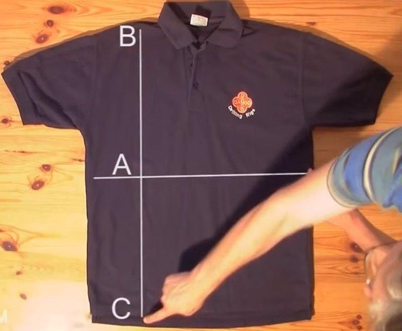 C mo doblar una camisa en segundos tutorial - Como doblar una camisa ...