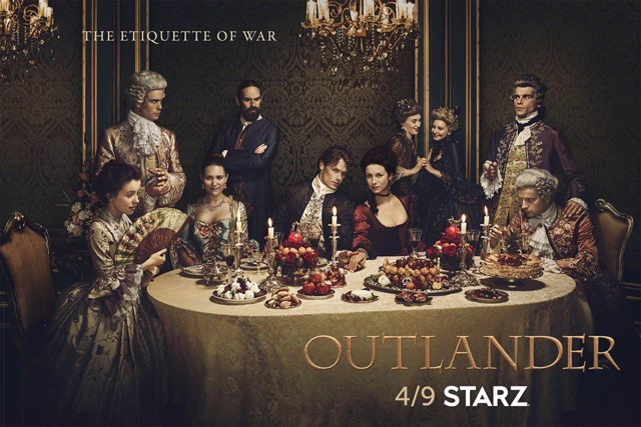 Nuevo cartel de la serie Outlander