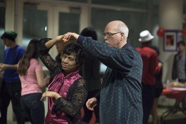 Bachata, señores, bailar, baile