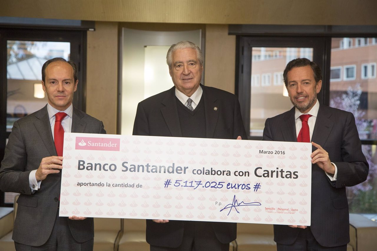 Un fondo tico del banco santander entrega 5 millones de for Banco santander abierto sabado madrid