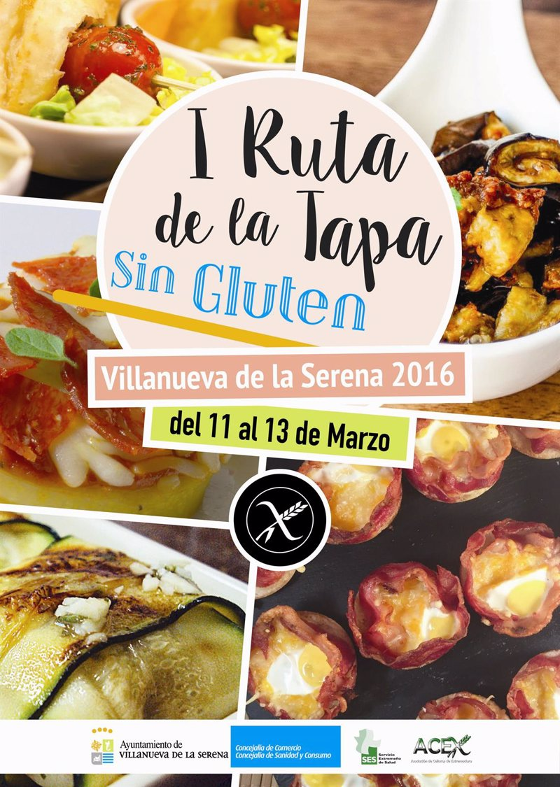 Cartel Ruta de la Tapa Villanueva de la Serena 2016