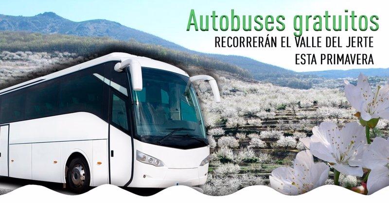 Rutas en bus recorrer n la primavera del valle del jerte c ceres - Oficina turismo caceres ...