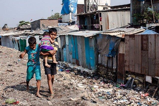 Niños de países en desarrollo