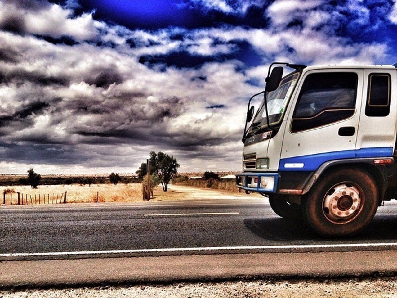 Camión, camionero