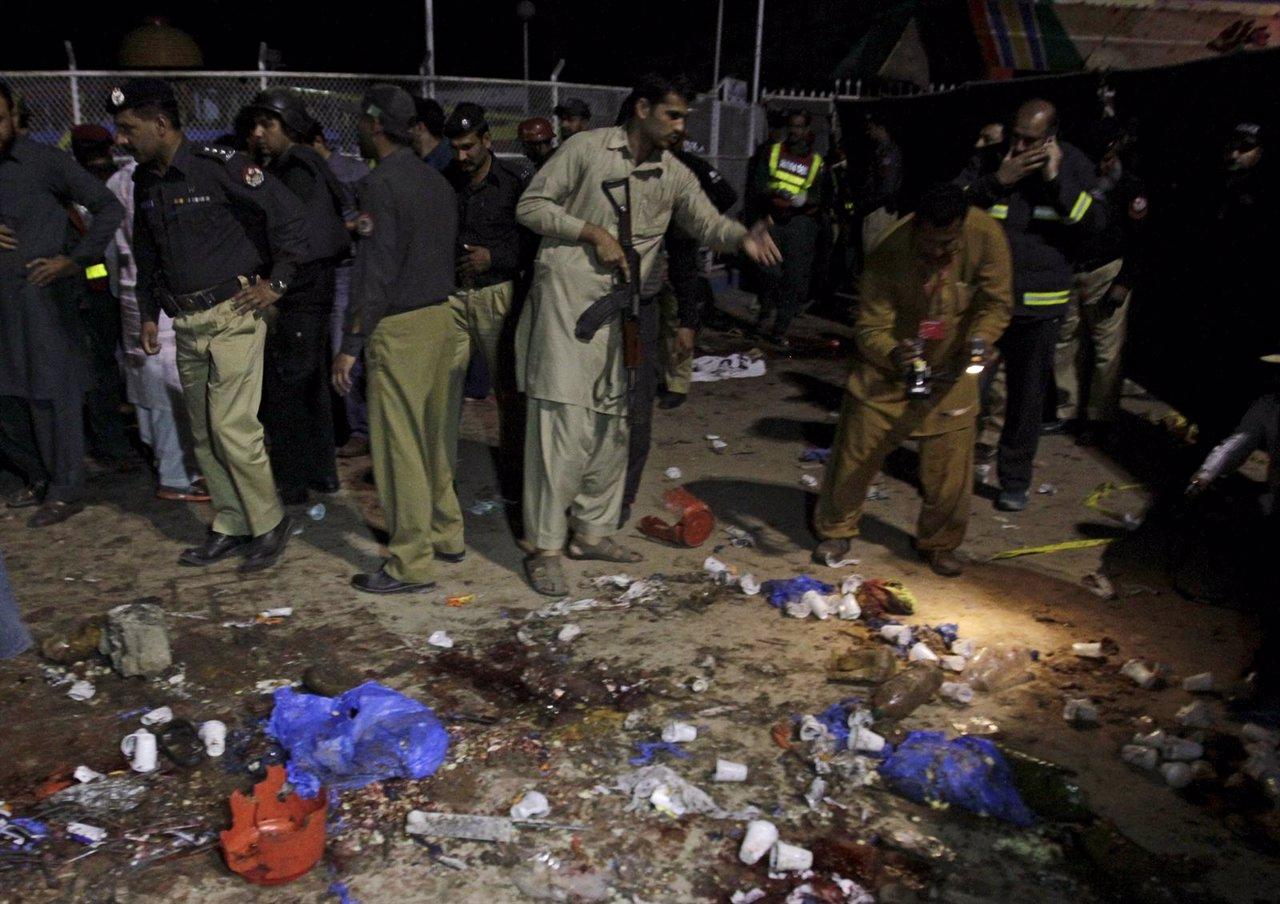 Un atentado suicida en Lahore, Pakistán, deja al menos 53 muertos