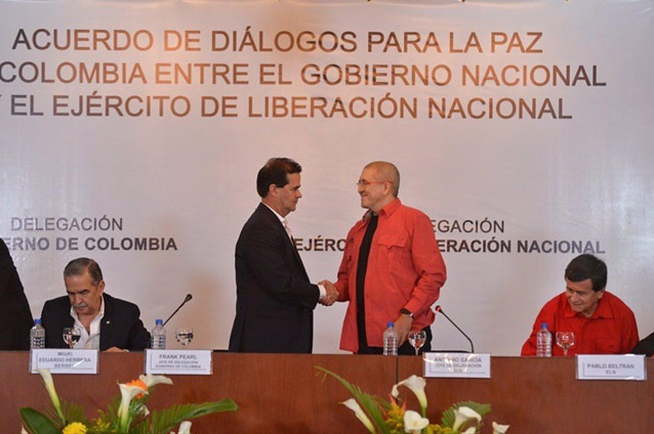 ELN y Gobierno colombiano