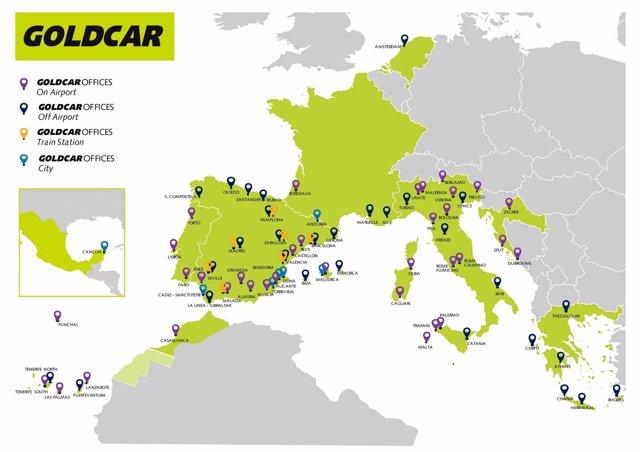 Goldcar abre seis nuevas oficinas en italia desde for Oficinas goldcar