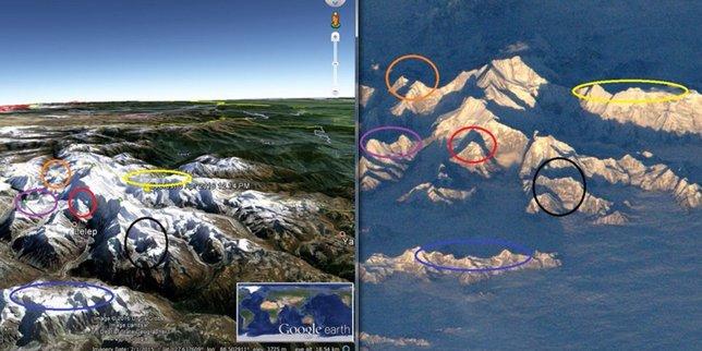 Niño Astronauta En El Espacio: La Más Detallada Imagen Del Monte Everest Desde El Espacio