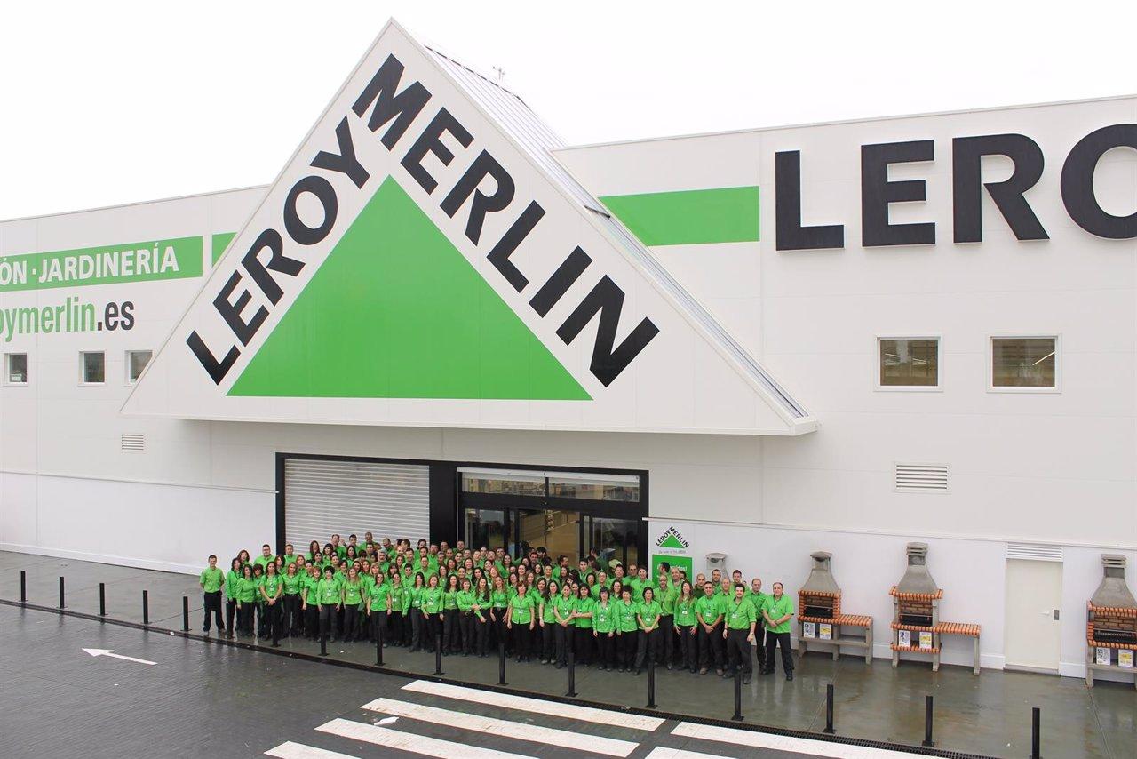 leroy merlin selecciona a 100 nuevos trabajadores para su