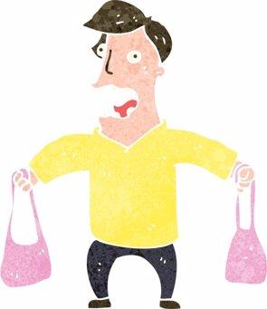¿Por qué los hombres no saben llevar un bolso? (GETTY)