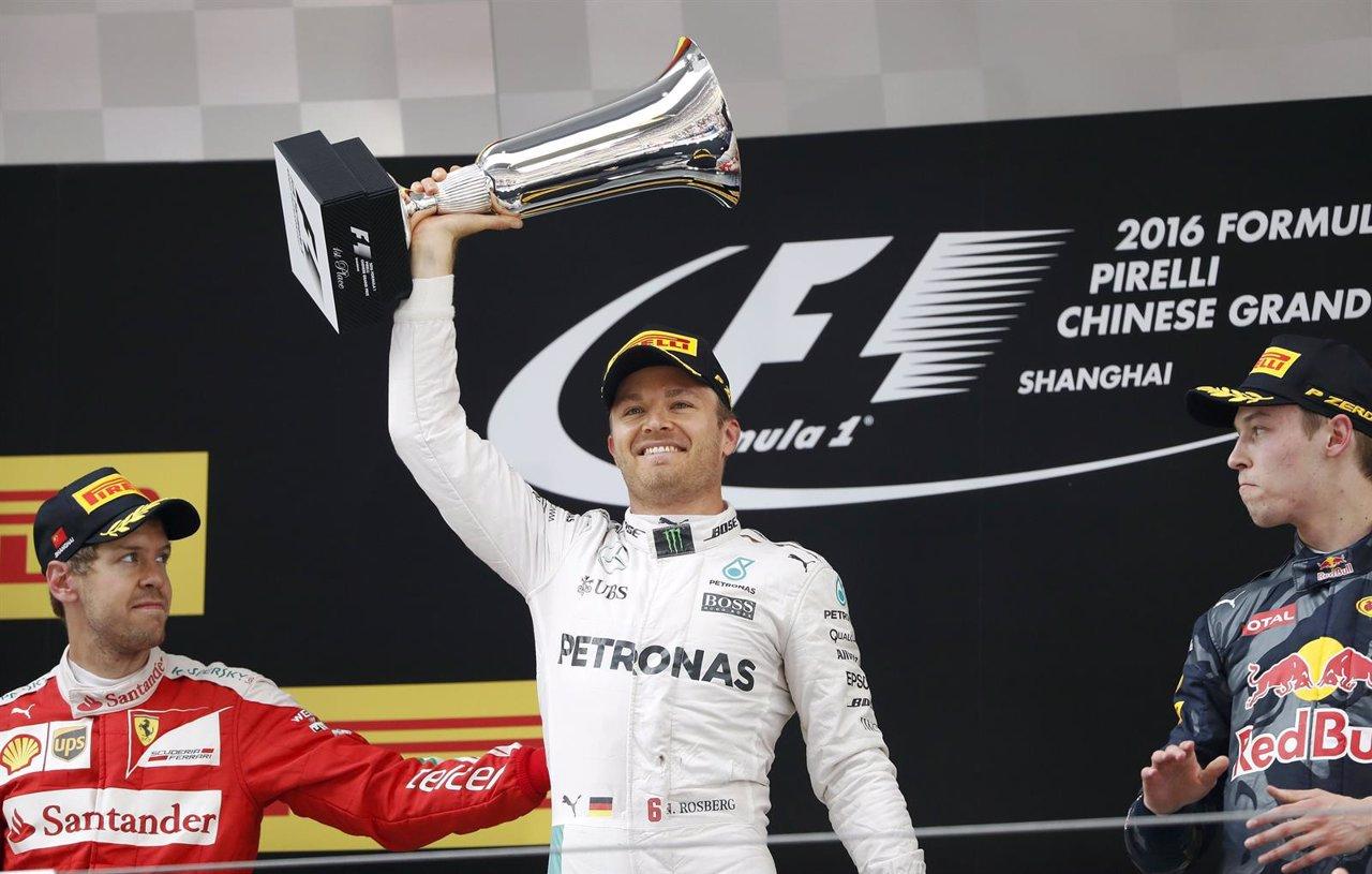 Nico Rosberg consigue su tercera victoria en tres carreras