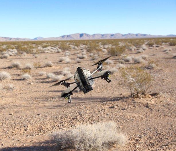 Este es el daño que provoca un dron al chocar contra una persona (vídeo) AMAZON