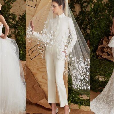 Foto: Desafía la tradición con los vestidos de novia de Carolina Herrera (COLECCIÓN DE CH BRIDES)