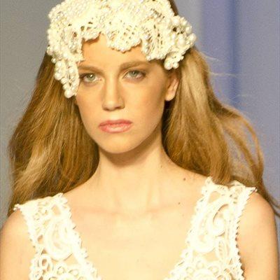Foto: Cinco tendencias beauty para la novia perfecta (CORDON PRESS / DESFILE IBIMODA PASARELA COSTURA MA)