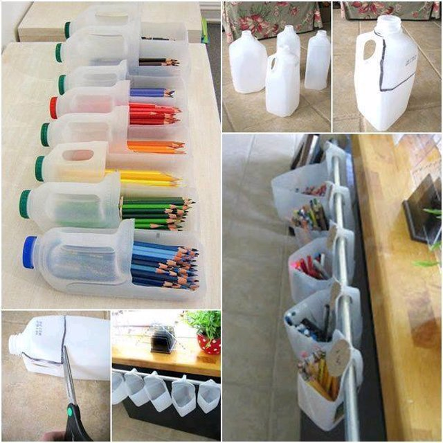 Organizador Para Baño Reciclado:18 geniales y prácticas ideas para reciclar botellas de plástico