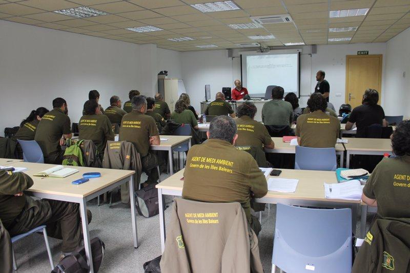 Los Agentes de Medio Ambiente de Baleares actualizan sus conocimientos sobre delitos ambientales