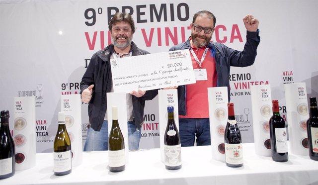 Dos ingenieros industriales ganan el premio vila viniteca for Cata de vinos barcelona