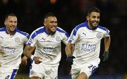 Riad Mahrez (Leicester), elegit millor jugador de la Premier League pels mateixos jugadors (REUTERS)