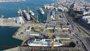 Foto: Cuatro cruceros coinciden a la vez en el astillero de Navantia de Cádiz para ser reparados