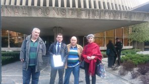 La fiscal jefe del Tribunal Constitucional muestra su apoyo a los afectados de la talidomia  (EUROPA PRESS)