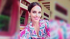 Cristina Pedroche pasea por la India moda española en Pekin Express