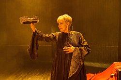 Concha Velasco recorda els últims moments de la reina Joana la Boja (SERGIO PARRA)
