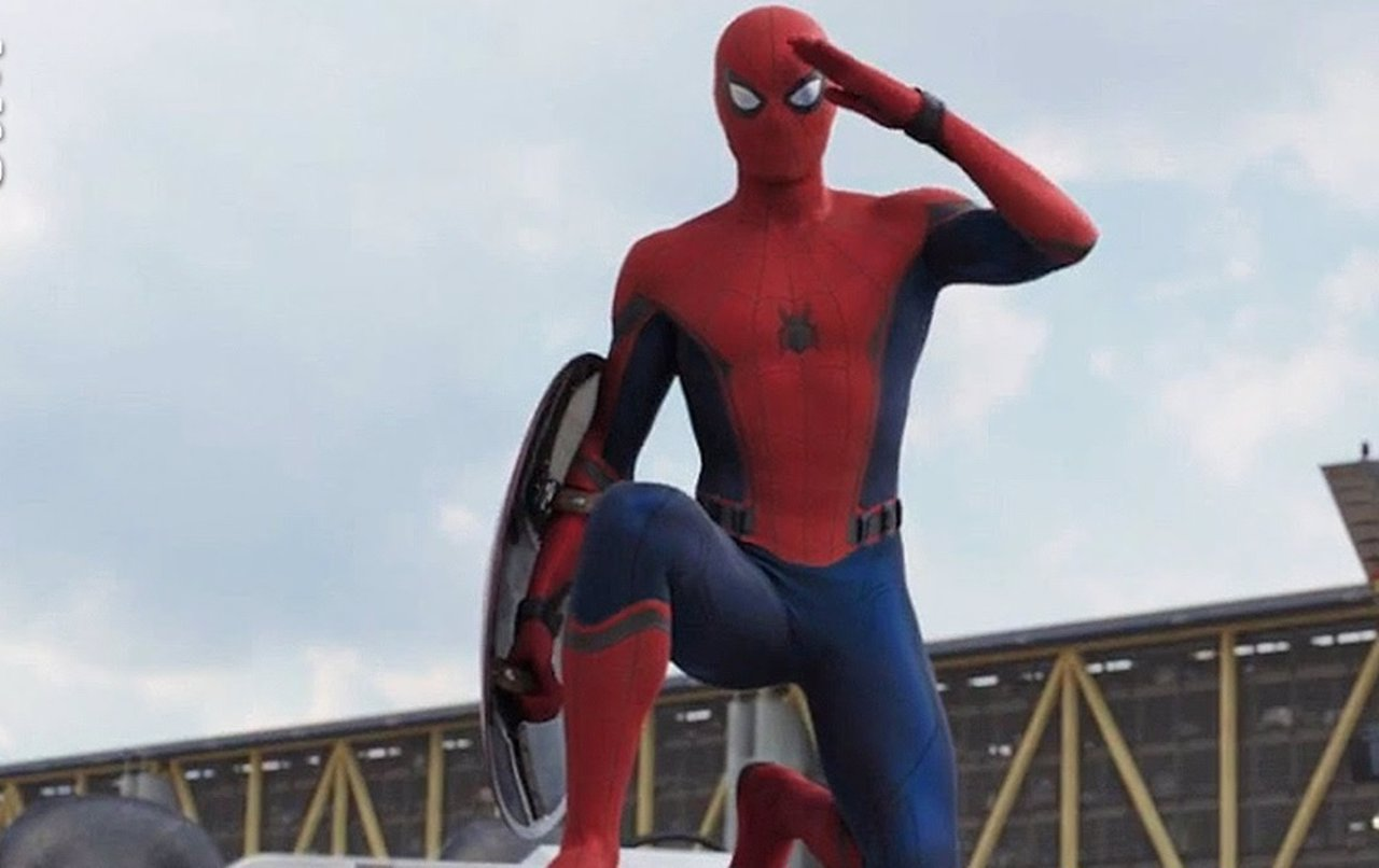 Spiderman se coge a marin de aacuteguila - 3 6