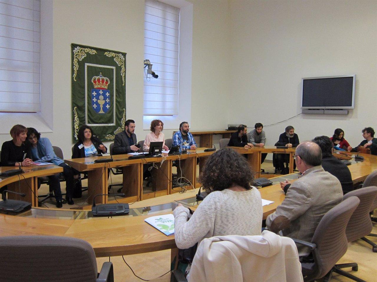 Presentación del Anteproyecto de Ley de Artes Escénicas de Galicia