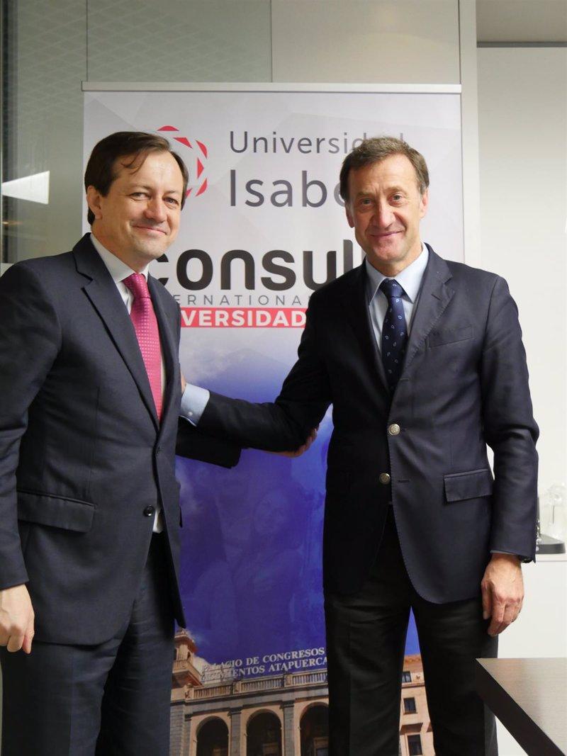 La universidad isabel i abre un centro asociado en madrid for Centro asociado de madrid