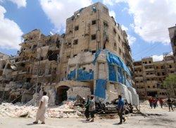 Més de 50 morts a Alep per bombardejos aeris i atacs dels rebels (ABDALRHMAN ISMAIL / REUTERS)