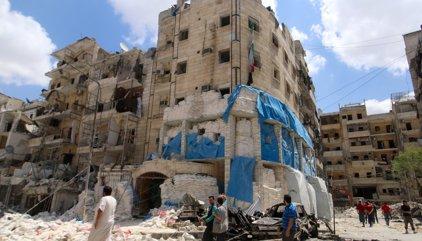 Més de 50 morts a Alep per bombardejos aeris i atacs dels rebels