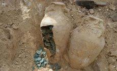 Troben 19 àmfores amb 600 quilos de monedes de bronze romanes (EUROPA PRESS/EUROPA PRESS)