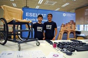 Diseñan una silla de ruedas 'low cost' para países en desarrollo (UPC)