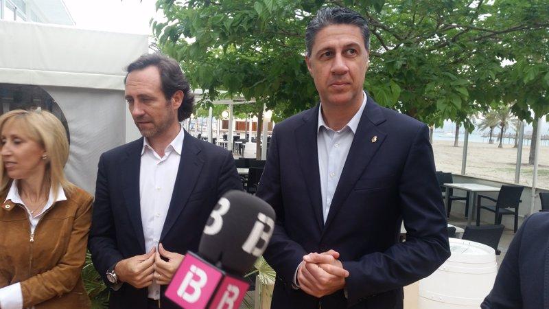 Albiol: 'Es una pena que en Baleares estéis sufriendo la fauna de Podemos'