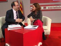 Batet comunicarà aquest divendres que aspira a ser la candidata del PSC a les generals (EUROPA PRESS)
