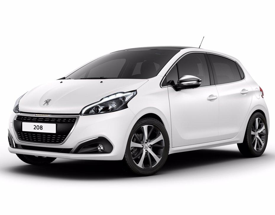 Foto: Peugeot presenta el Peugeot 208 Ice White (EUROPA PRESS)