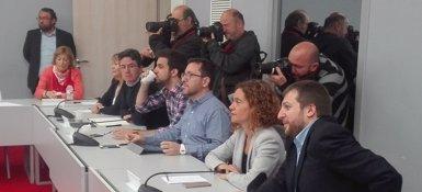 Batet oficialitza la voluntat de ser candidata del PSC al Congrés (EUROPA PRESS)