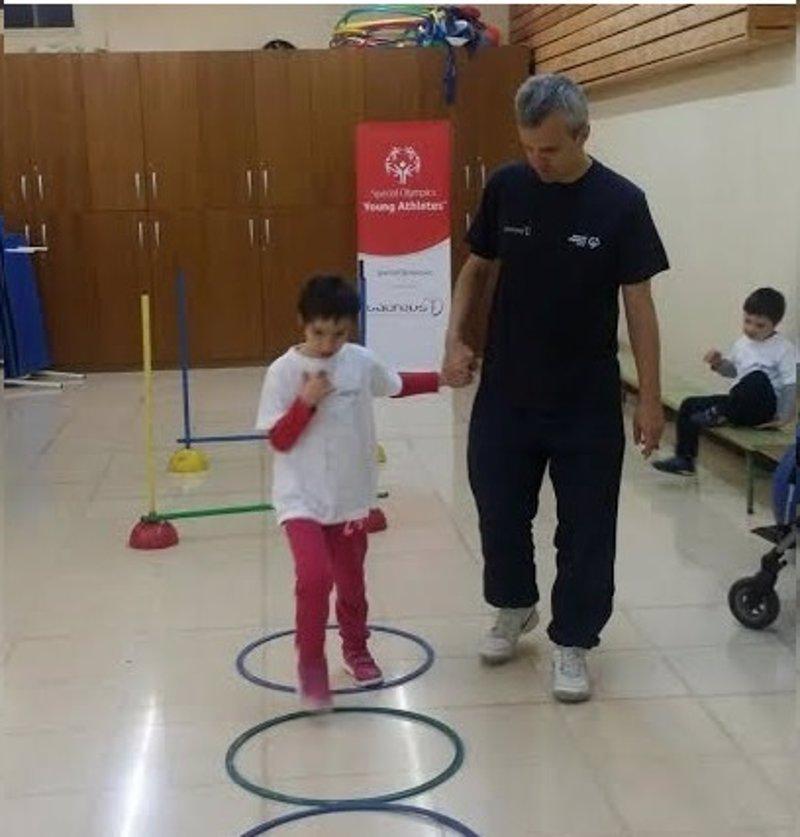 Un total de diez niños con discapacidad intelectual del centro Mater Misericordiae  participan en el programa YAP