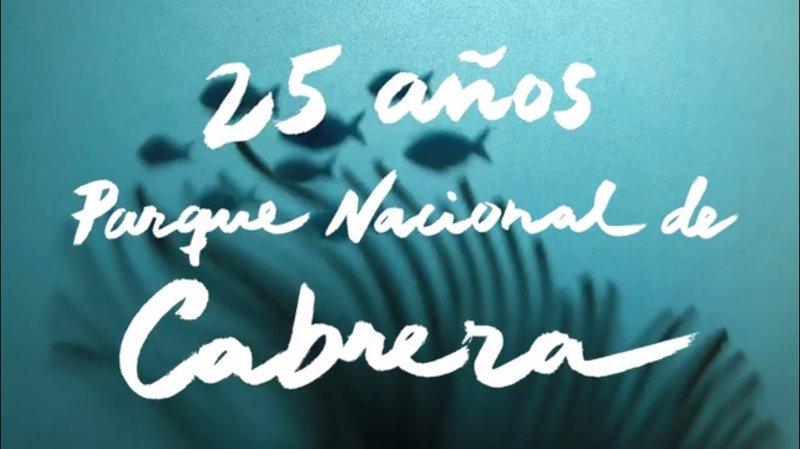 Oceana celebra el 25 aniversario del parque de Cabrera con un vídeo