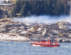 13 morts per l'accident d'un helicòpter davant de la costa noruega (REUTERS)