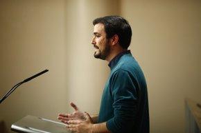 """Foto: IU llama a participar en el 1 de mayo para salir de la crisis con """"trabajo digno"""" (EUROPA PRESS)"""